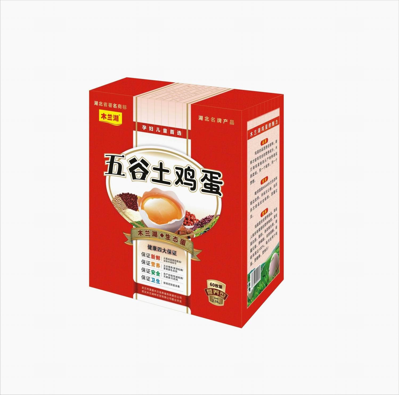 五谷土鸡蛋60枚礼盒